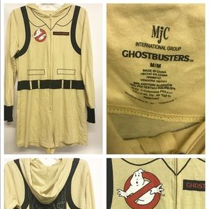Woman's ghostbusters romper zip up cosplay suit M